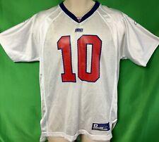 J276 NFL New York Giants Eli Manning #10 Reebok Jersey Youth XL 18-20