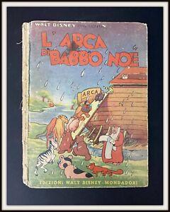 ⭐ Arca di BABBO NOÉ - Sinfonie Allegre - Mondadori Disney 1941 - DISNEYANA.IT ⭐