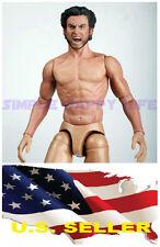 ❶ZC Toys 1/6 Muscular Figure With Wolverine Head Roar Hugh Jackman TTM19 USA❶