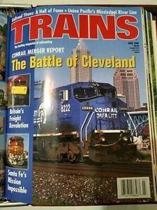 Trains Railroad Magazines COMPLETE 1998 Year Binder