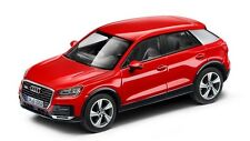 Original Audi Q2 GA MODEL CAR 1:43 Tango Red Model Audi Q2 Type GA RED 1:43