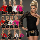 NEW WOMEN CLUBBING TOP BLOUSE SEXY LADIES BUTTERFLY SLEEVE SHIRT SIZE 6 8 10 12