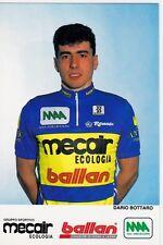 CYCLISME carte  cycliste DARIO BOTTARO équipe MERCAIR BALLAN 1993