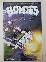 HOMIES #3 (2016) DYNAMITE COMICS 1ST PRINT ANDREW HUERTA COVER & ART!