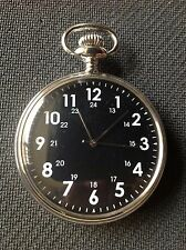 POCKET WATCH NO. 70 SILVER COLOURED FOB WATCH DESIGN COLLECTABLE