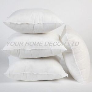 Pack of 4 Extra Deep Filled 18x18 Inches Cushion Pads Inserts Fillers Scatters