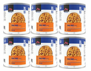 Mountain House Chili Mac w/ Beef #10 Can Freeze Dried Food - 6 Cans
