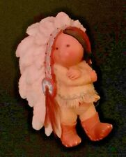 "1994""Little Big For Britches"" Boy With Headdress Friends Of The Feather 115673"