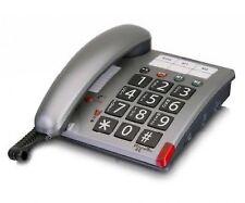 Audioline Amplicomms PowerTel 46 Big Button Phone Silver