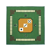 Multifunction Mahjong Table Mat Table Cover Cloth for Poker Card Game Play