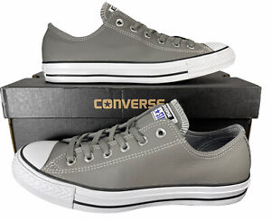 Converse Chuck Taylor All Star Ox Sneaker Mason Gray Leather 154817C 8 Men