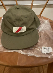 New! $55 Best Made Company Co Olive Ripstop Ball Cap Baseball Hat. Leather Strap