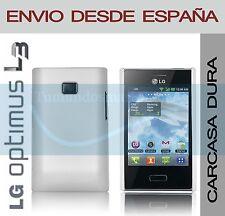 CARCASA FUNDA DURA BLANCA LG OPTIMUS L3 E400 EN ESPAÑA