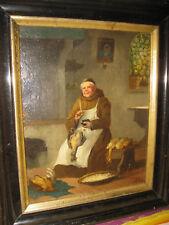 RESCH Josef, *1819 Mönch beim Hühnerrupfen