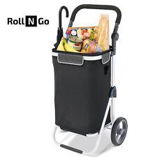 Bremermann carrito de compras Riede plegable negro ajustable asa