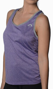 More Mile Marl Womens Running Vest - Purple