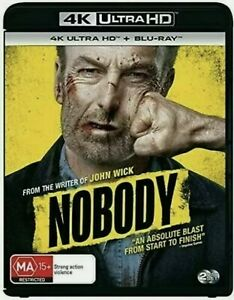 Nobody - 4K Ultra HD + Blu-ray - Brand New Sealed Region B Aus