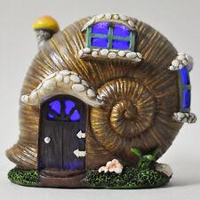 Fée maison escargot coquille Jardin Lumière DEL Elf Lutin Magique de Noël décoration 39209