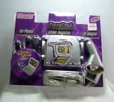 Gameboy Advance Travel Pak Intec- Ear Phones- Screen Magnifier- Car Adaptor NOS