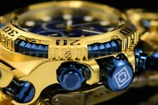 "Invicta Men 50mm Chaos ""Ocean in the Gold"" Gold Plated Screw Down Bracelet Watch"