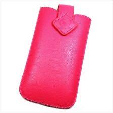 Housse Etui Pochette Protection façon cuir rose pour ASUS ZenFone Live ZB501KL