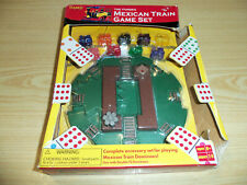 The Fundex Mexican Train Dominoes Game Complete Accessory Set 2002 - PreOwned