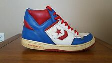 Converse Weapon Blue/Red/White Basketball Shoes Size 12