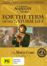 For the Term of His Natural Life NEW PAL Cult 2-DVD Set A. Perkins Colin Friels