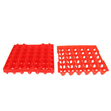 Pack of 5 30- Eggs Tray Chicken Duck Quail Bird Poultry Plastic Tray