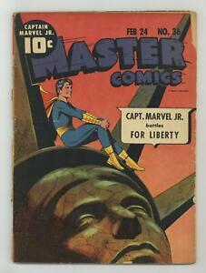 Master Comics #36 GD 2.0 1943
