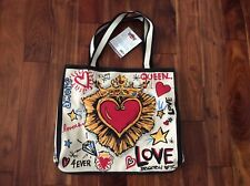 2019 Brighton Limited Edition Tom Clancy Queen of Love Tote D30187