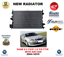 FOR SAAB 9-3 YS3F 1.9 TiD TTiD WITH AIR CON 2004->2015 NEW RADIATOR OE QUALITY