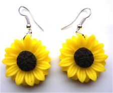 🌻🌻 Handmade by me Gorgeous Sun Flower Earrings  - with free gift bag 🌻🌻