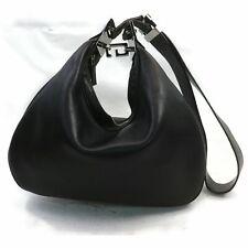 Gucci Shoulder Bag  Black Leather 1710129
