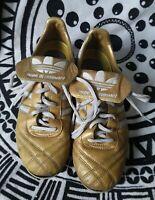 Adidas Profi Liga Copa K Made Germany US 5 Rare FG Gold Limited edit shoes