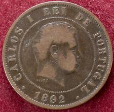Portugal 20 Reis 1892 (D2007)