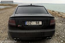 Audi A6 4F C6 04-08 Saloon Sedan Limo Spoiler rear RS S Trunk Lip ABT door S6