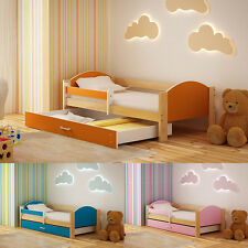 NEW 160x80 or 180x90 Toddler Children Kids Bed with Mattress Drawer BOYS & GIRLS