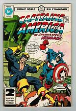 FRENCH COMIC FRANÇAIS EDITION HERITAGE CAPITAINE AMERICA  #  120 / 121