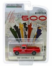 """1967 CHEVROLET C-10 FIRE PICKUP TRUCK """"INDIANAPOLIS RACE"""" 1/64 GREENLIGHT 30030"""