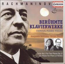 Margarete Babinsky Holger Busch Piano : Rachmaninov: Famous Piano Pieces (for