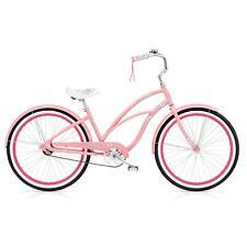 Electra Hawaii 3i Ladies pink rosa 26 Zoll Beach Cruiser Fahrrad zu Green Gate