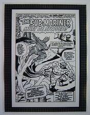 Original Production Art STRANGE TALES #125 splash page, DICK AYERS art