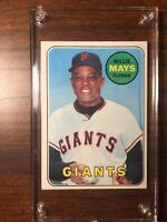 1969 Topps Baseball #190 Willie Mays NM