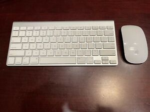 Apple A1314 Wireless Keyboard and Apple 1296 Magic Mouse