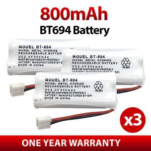 3X UNIDEN BT694 BT694S BT694n BT694m BT 694 Cordless Phone Replacement Battery