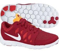 NIKE Free 5 PS Running Shoes NIB Boys Pre-School Sz 13c / 30 RED white crimson