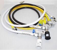 3x Datex Ohmeda S5 ANESTESIA ossigeno condotte e le valvole