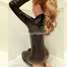 New 100%  Latex Rubber Full-body Catsuit Tight Bodysuit Hood Suit Size XXS-XXL