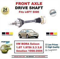Pour VW Bora Berline 1.8T 1.9TDi 2.3 2.8 4motion 1998-2005 avant Gauche Arbre